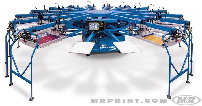 automatic screen printing machine